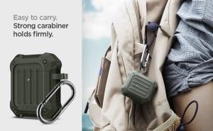 Ốp chống sốc Spigen Tough Armor Airpod 1/2 (chính hãng)